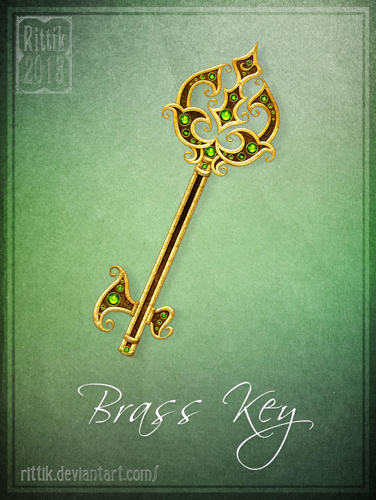 Brass Key by Rittik