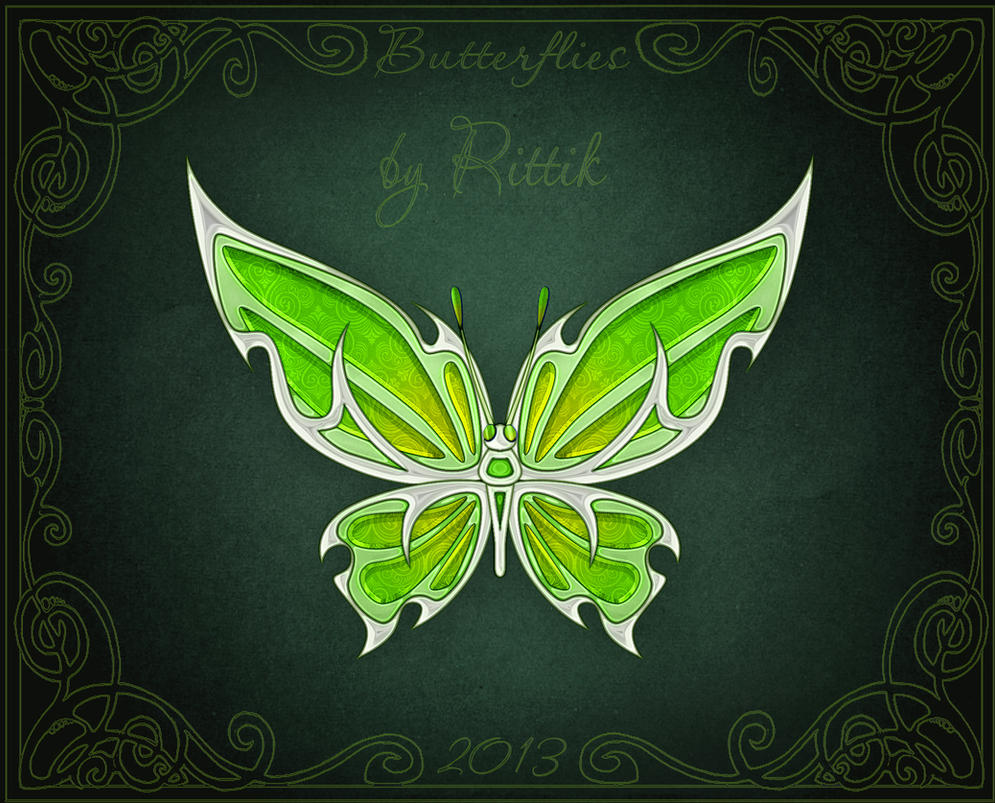 Butterflies - Nettle by Rittik