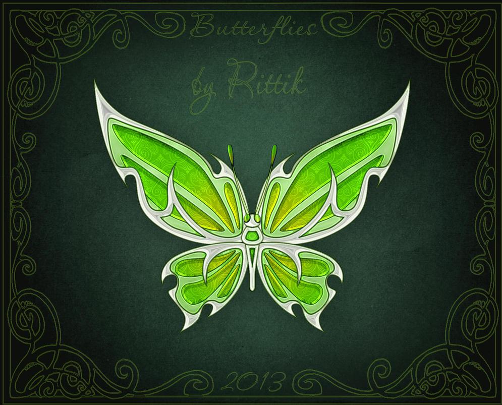 Butterflies - Nettle by Rittik