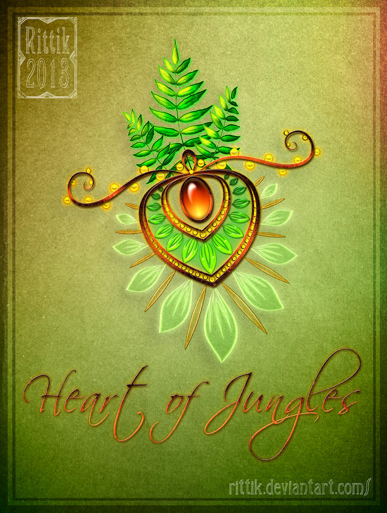 Amulet - Heart of Jungles by Rittik