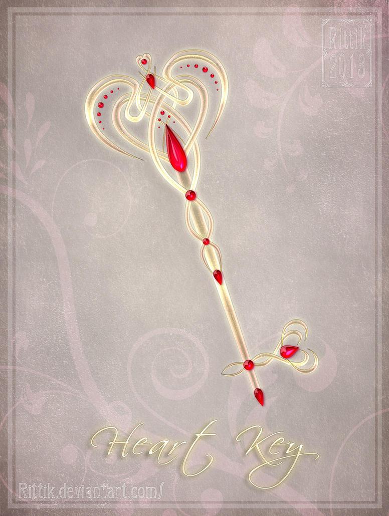 Heart Key by Rittik