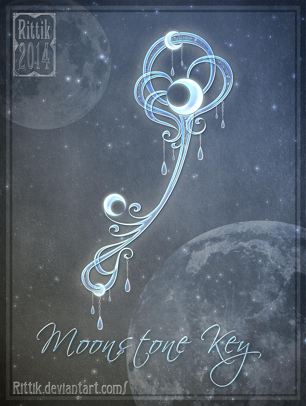 Moonstone Key by Rittik