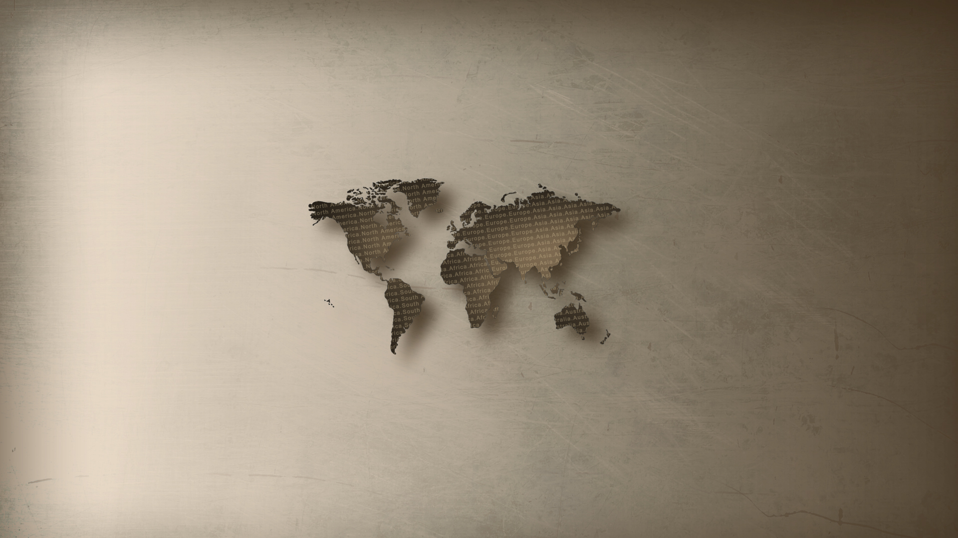 World Map Brown By Phauxington On Deviantart