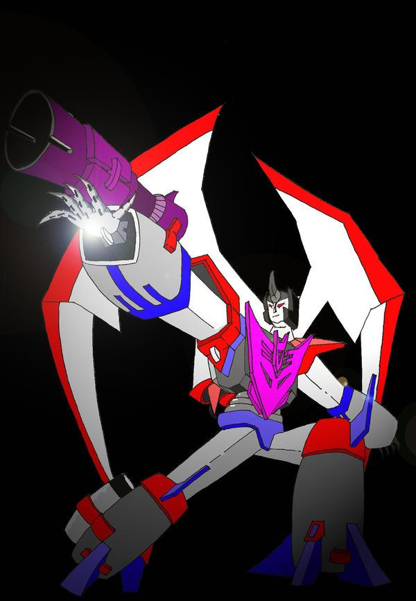 Commander Starscream in Colour by Nortallica