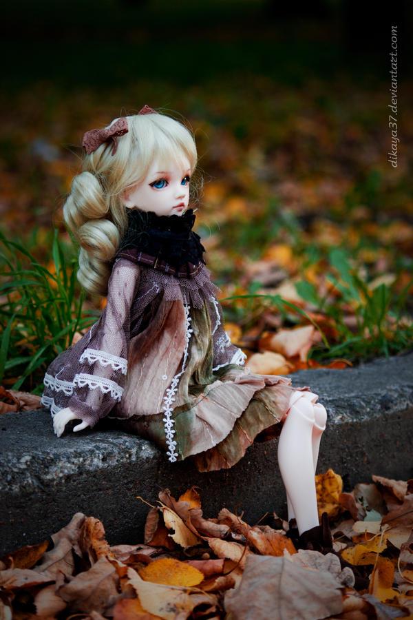 Autumn walk by Dikaya37