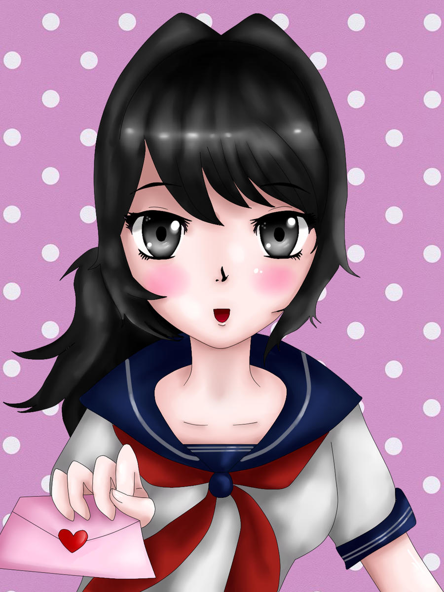 yandere_chan___ayano_aishi_by_vanezaesco