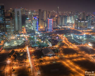 Fort Bonifacio City by jdeepan