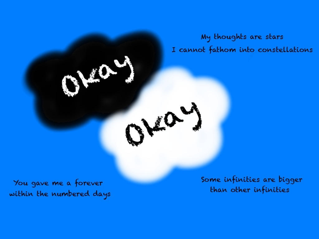 The Fault In Our Stars Okay Hazel And Augustus By