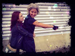 Clary and Jace cosplay
