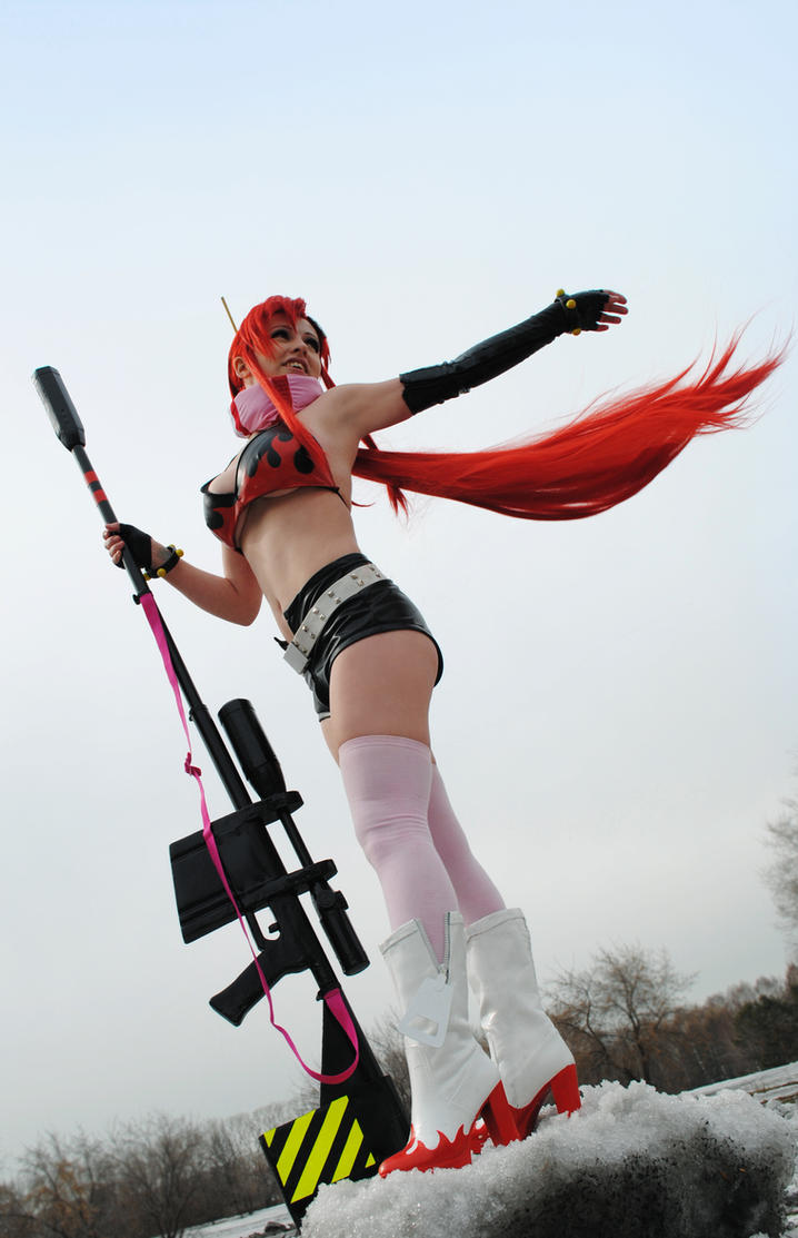 Yoko Littner cosplay by AliceBlacfox