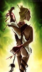 Queen Beast by irissee