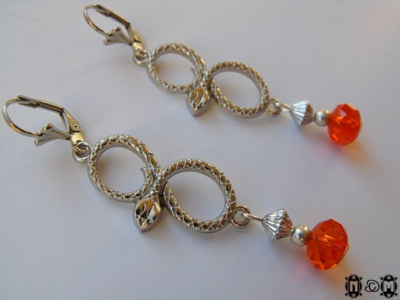 martell sand snakes earrings by nastyamedun on deviantart