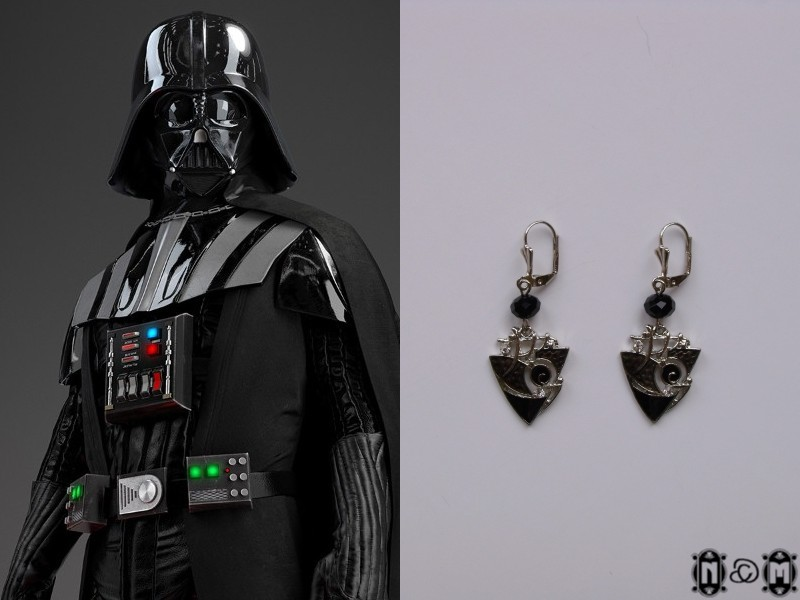 Darth Maul Earrings by NastyaMedun on DeviantArt