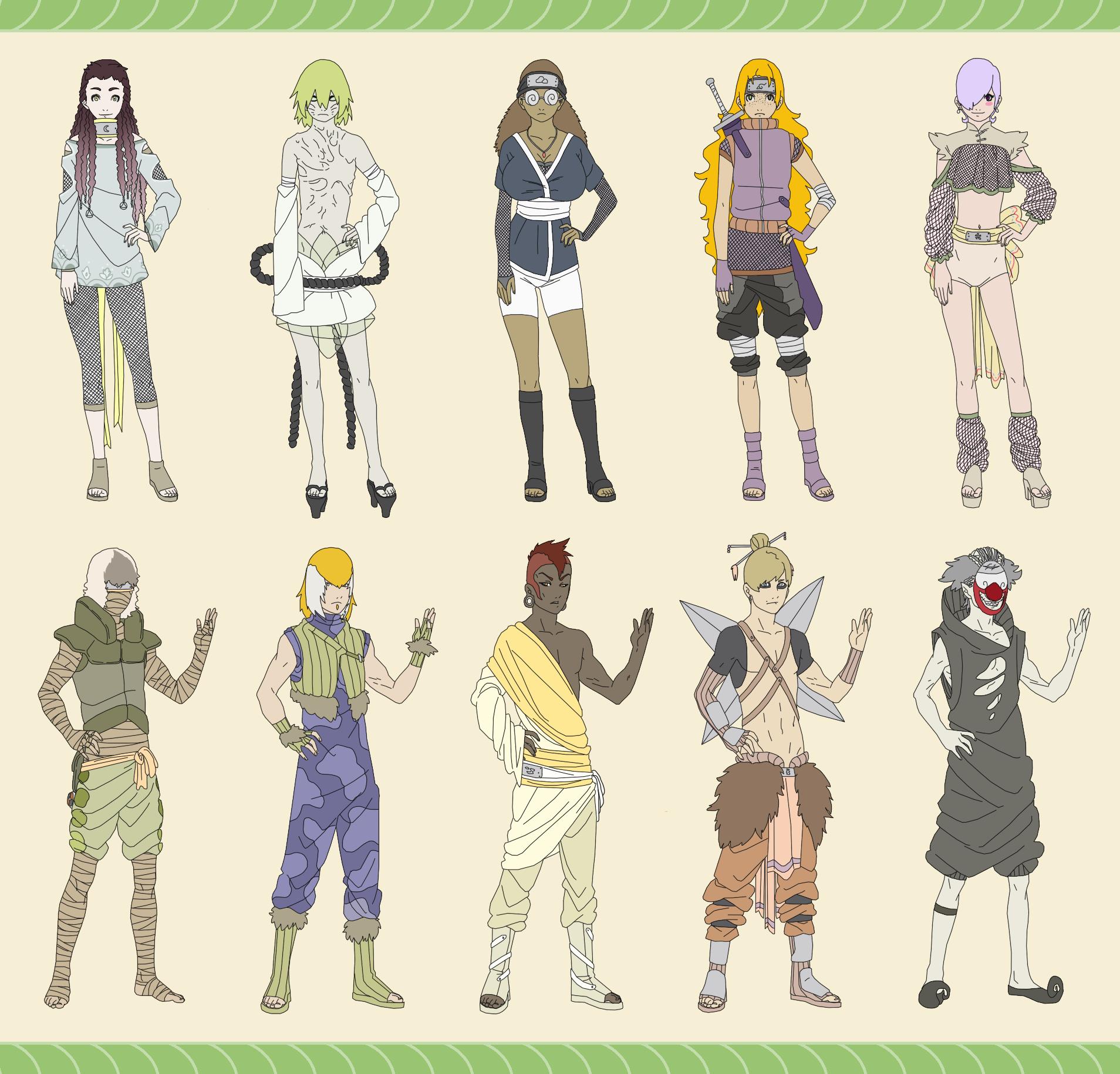 Jinjuriki for Pinterest Gaara And Naruto Chibi