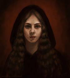 Girl In Hood by YuliaZhuchkova