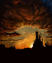 Sky and Castle