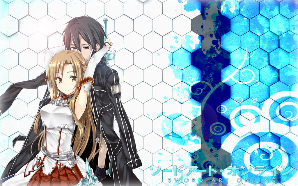 Sword Art Online Kirito And Asuna Wallpaper By Kirigawakazuto