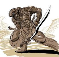 Samurai by PrimalConcrete