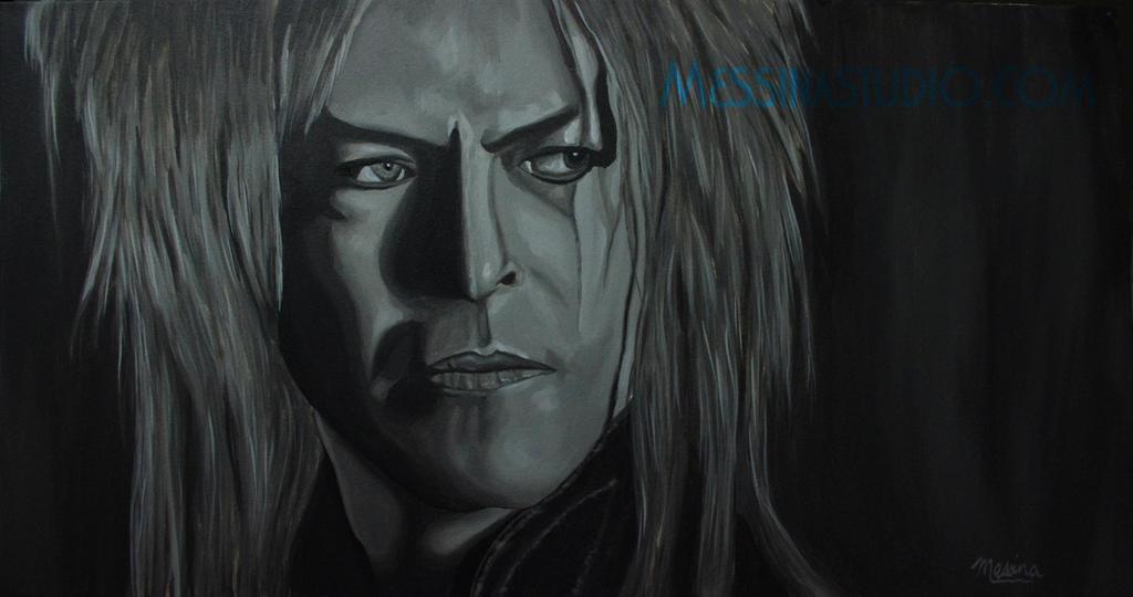 'Within You' of David Bowie * Jareth * Goblin King by miz-mezzy