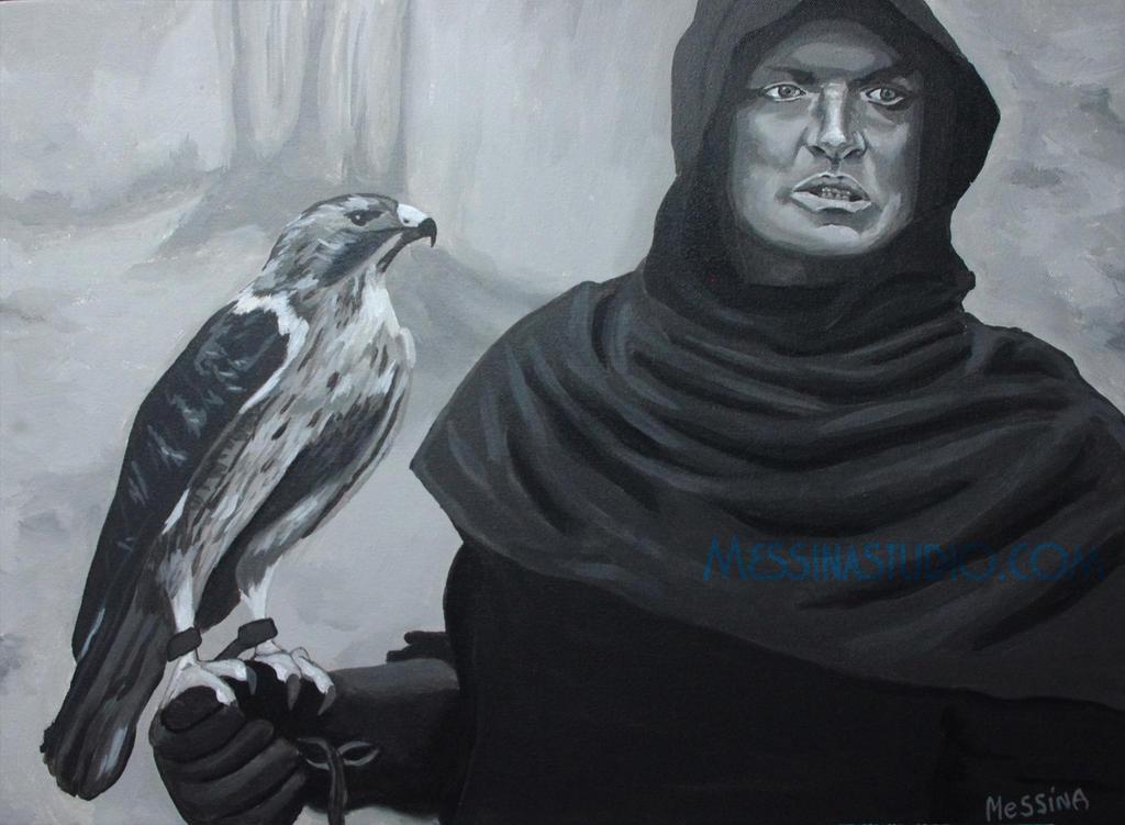 'Cursed' Rutger Hauer in Ladyhawke by miz-mezzy