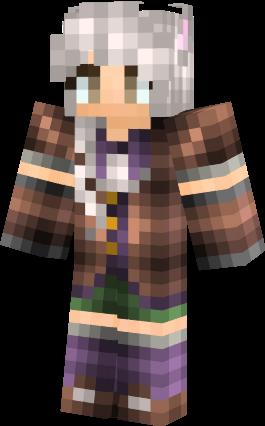 Aislin OC Minecraft Skin By Shipwreckedtreasure On DeviantArt - Minecraft skins fur cracked version