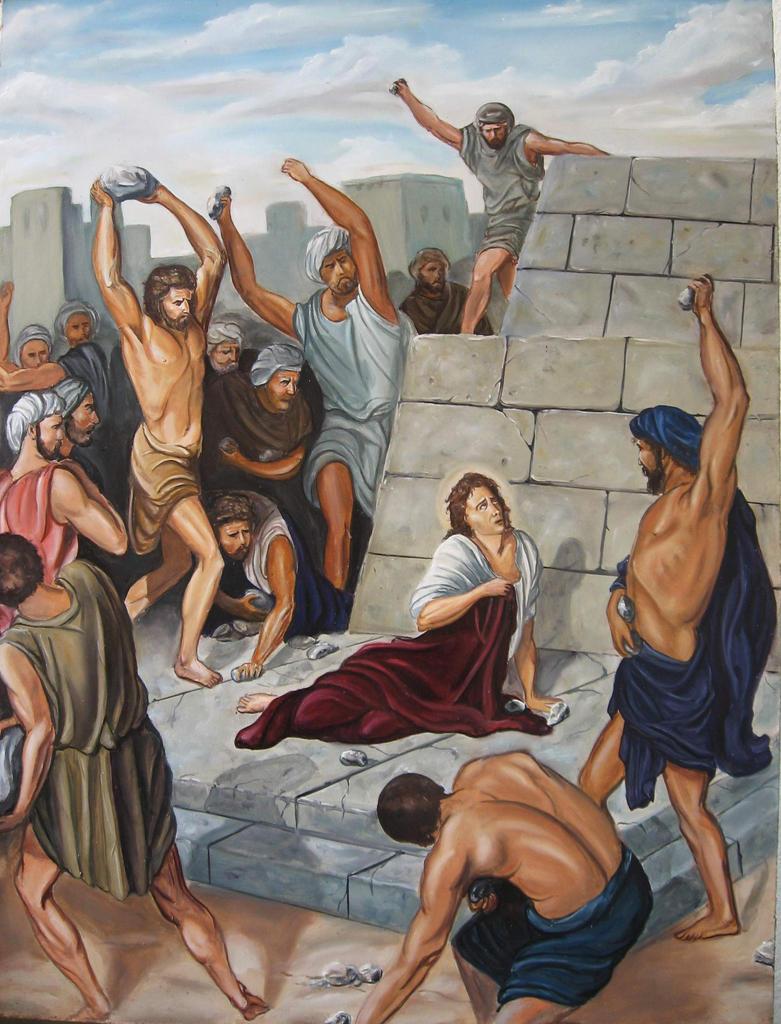 Stoning of St. Stephen by 4ratko on DeviantArt