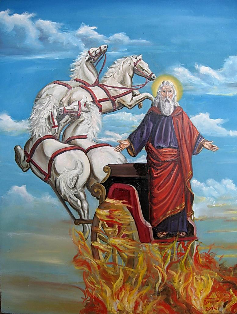 St. Elijah by 4ratko