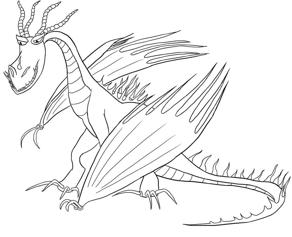 dragons switcharound meme  hookfang lineart