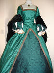 Green Tudor Gown