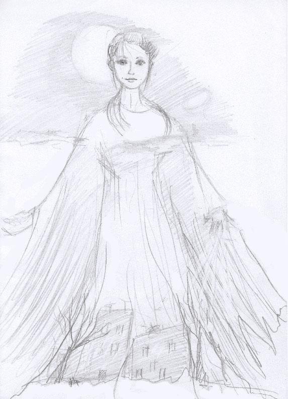 One Of Indigetes. Olga The Bird by Gertrudja