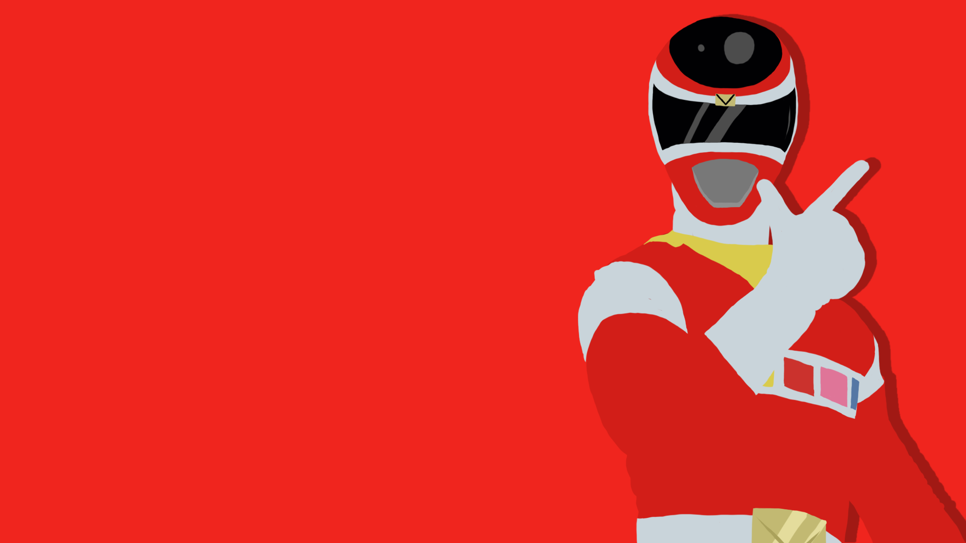Red Ranger Power Rangers In Space By Travp333 On Deviantart