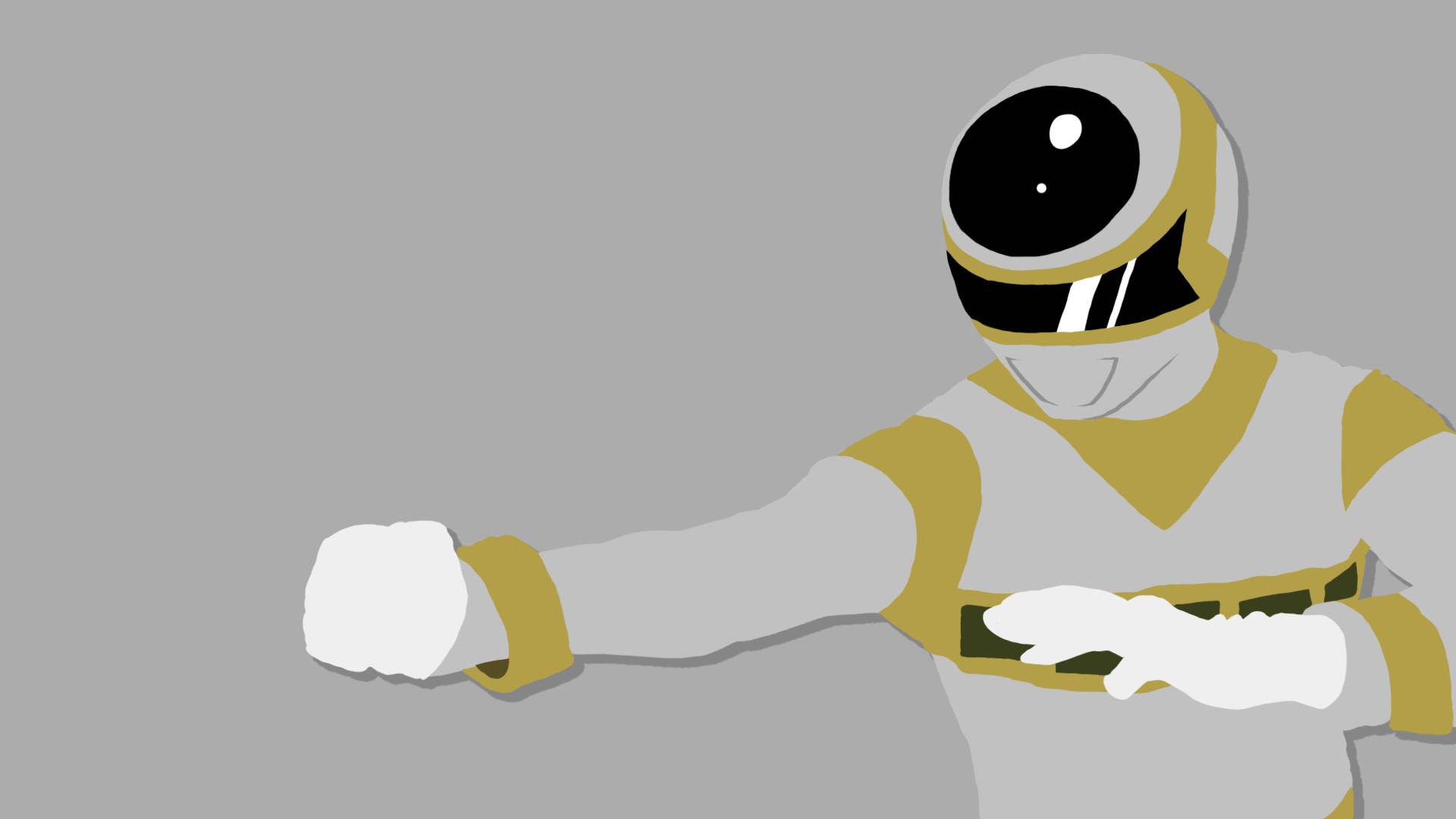Silver Ranger Power Rangers In Space By Travp333 On Deviantart