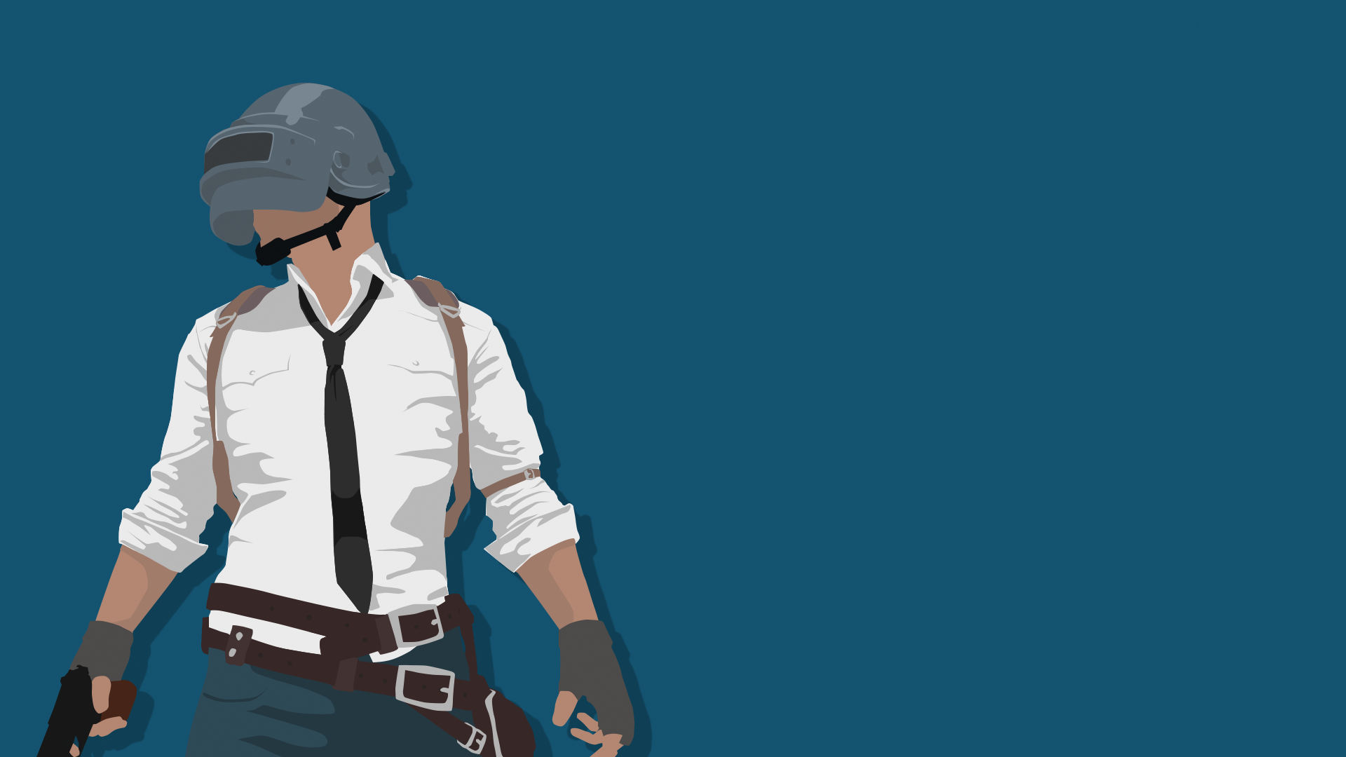 Pubg Helmet Fan Art 4k Wallpapers: Playerunknown's Battlegrounds Guy By Travp333 On DeviantArt