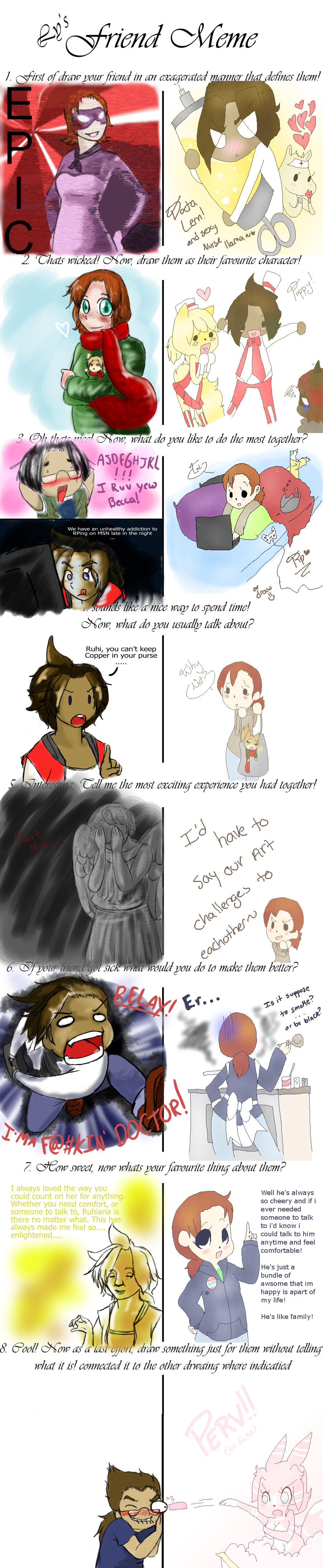 FRIENDSHIP MEMESSSSS by Ruhianna