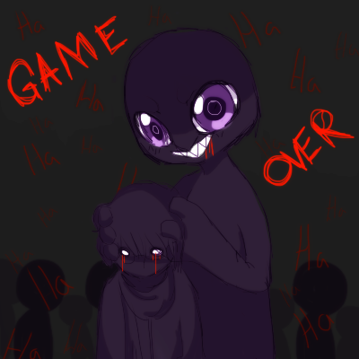 Aooni Game Over By Ruhianna On Deviantart