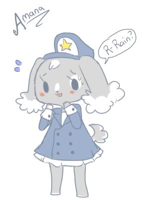 Animal Crossing Character - Amana by Ruhianna