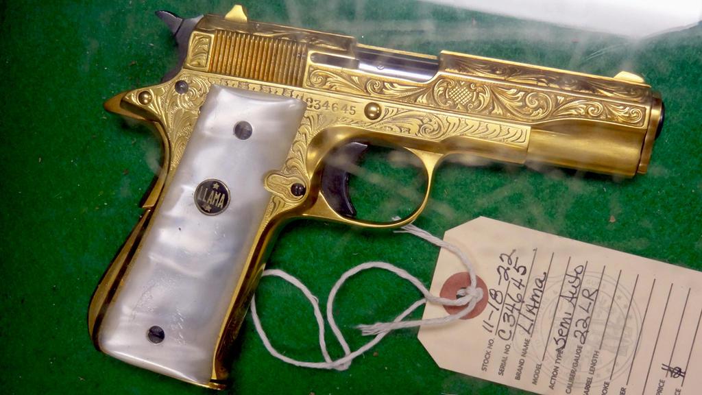 Gold Llama Firearms 1911 By Pitbulllady On Deviantart