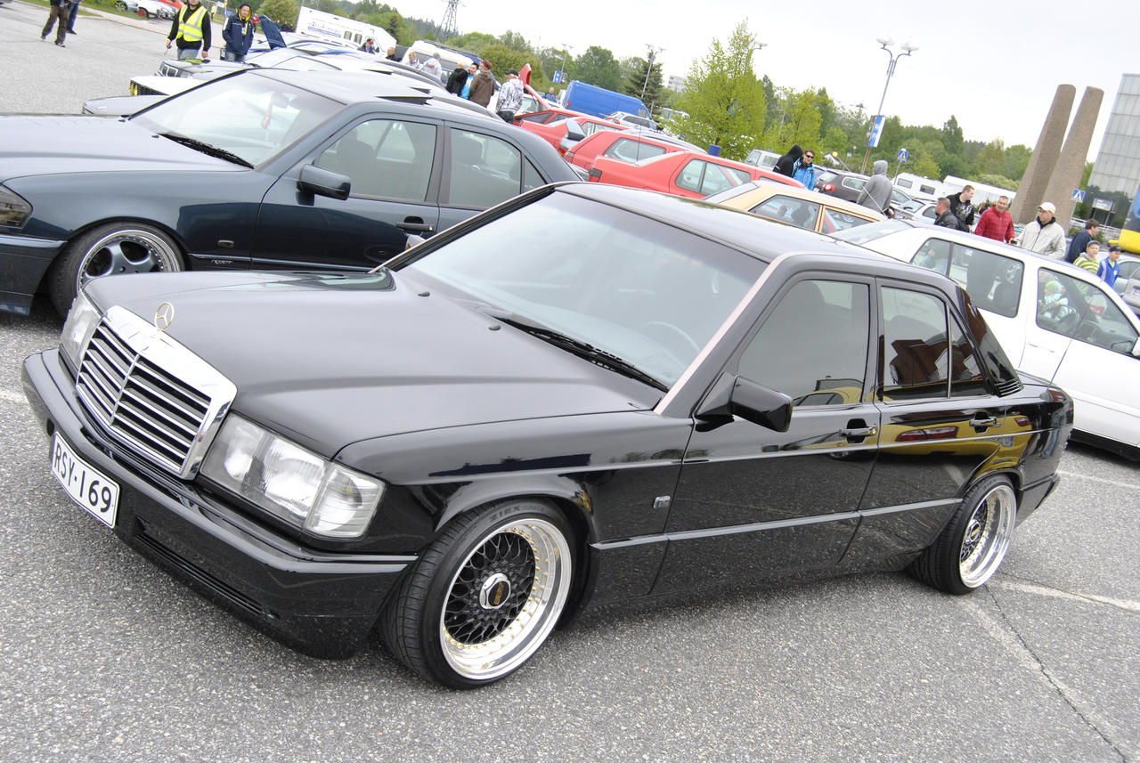 Mercedes benz 190e by heisq on deviantart for Mercedes benz 190e cosworth