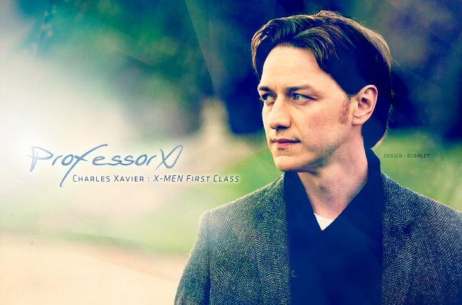 Charles Xavier by scarlet-xx