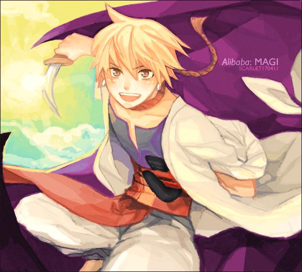 imagens de Magi: The Labyrinth of Magic Magi___alibaba_by_scarlet_xx-d4326fa