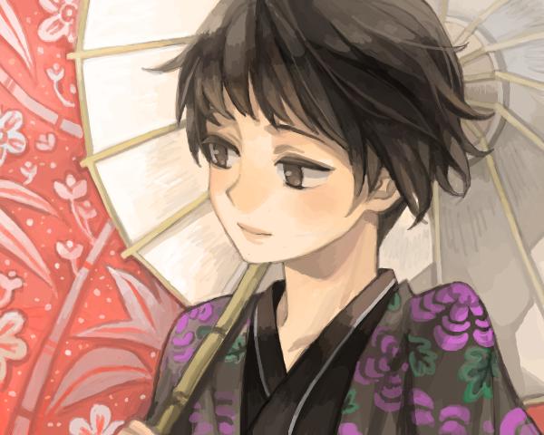 Kiku by scarlet-xx