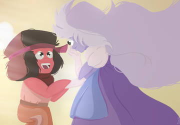 Sapphire And  Ruby by DrawingGroupStudio