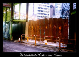 Central Construction Site, HK