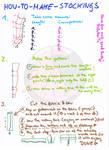 how to make stockings tutorial