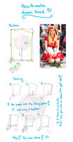 how to make Annies hood - pattern sewing tutorial by PizZaMonsTa