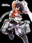 Mikasa Ackerman - Shingeki no Kyojin Render