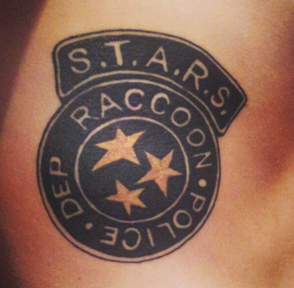 S.T.A.R.S Badge Tattoo. by C-Gray on DeviantArt