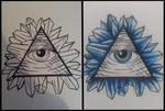 Illuminati Eye w/ Crystal Shards. (Stage 1/2)