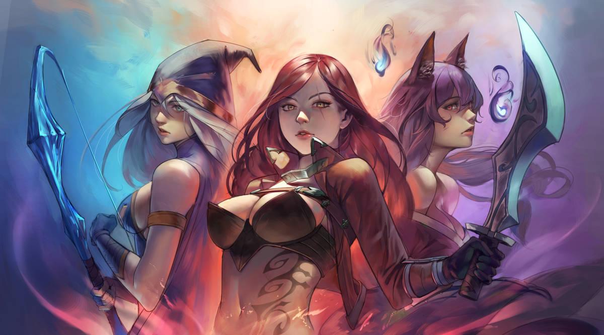 League of Legends /3 by sinceillust