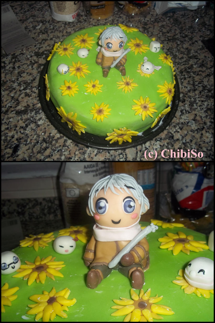 hetalia cake by ChibiSo